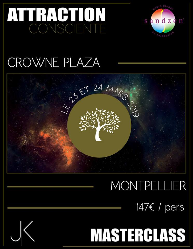 affiche attraction consciente montpellier